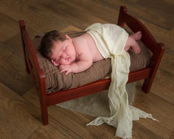 Olivia's Newborn Photo Shoot