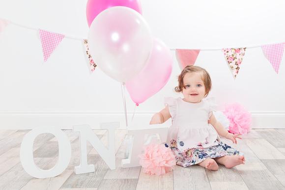 Olivia's First Birthday Mini Session